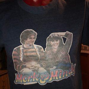 1978 AUTHENTIC VINTAGE MORK & MINDY T-Shirt